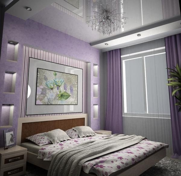 Недорогой дизайн спальни своими руками 669